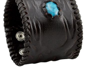Leather Cuff Bracelet, Turquoise Bracelet, Leather Jewelry, Cuff Bracelet, Leather Bracelet, Bracelet Men, Mens Jewelry,Leather Bracelet Men