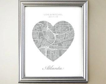 Atlanta Heart Map