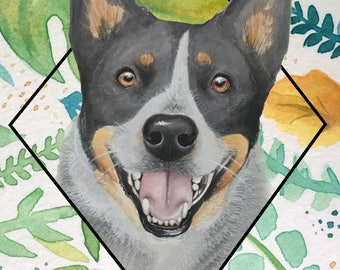 Greenery Blue Cattle Dog