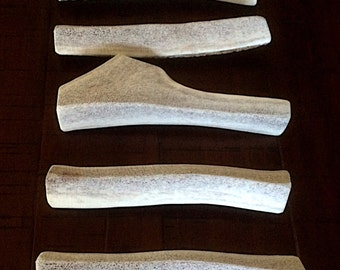 Quarter Split Elk Antler Dog Chews-Various Sizes-Free Shipping