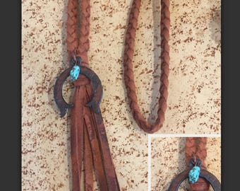 Braided Tassel Necklace Squash
