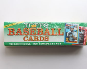 Topps Baseball Cards (1990 Official Complete Set) - Brand New Still Sealed