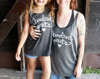 Kindred Spirits - Mommy and Me Matching Shirts - Anne of Green Gables - Mother Daughter Shirt Set - Gift for Mom. MADE TO ORDER
