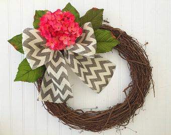 Summer wreath, door wreath, spring wreath, wreath for door, door wreath, JUST 29.99!