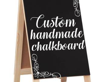 Handmade Custom Easel Chalkboard