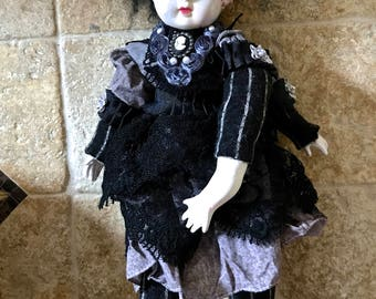 Craniopagus Twins Art Doll OOAK