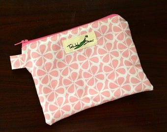 "7""x5"" Tab-Handled Wetbag ~ Windmills Cotton with PUL Lining ~ by Talulah Bean"