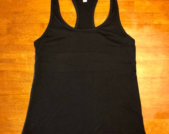 Woman's personalized racerback tank
