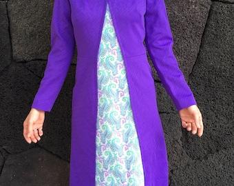 1960's Heliotrope Mod Dress