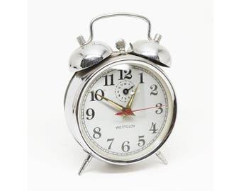 Westclox Metal Alarm Clock