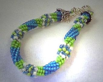 Beadwoven Ndebele Bracelet