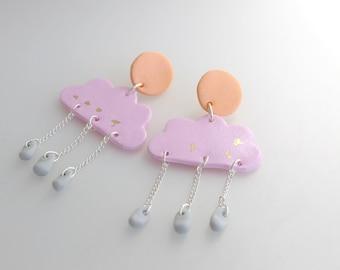 Dusky Rain Earrings
