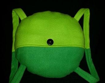 Finn Backpack- Inspired by Adventure Time Finn the Human Functional Backpack