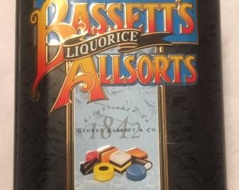 Bassett's Liquorice Allsorts Tin