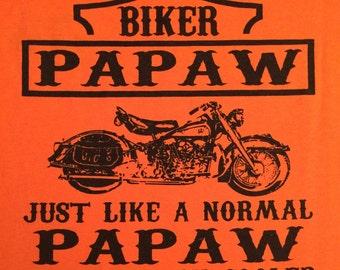 Biker Papaw t-shirt