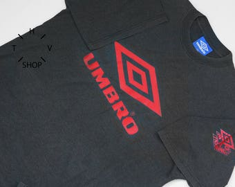 Vintage Umbro Pro Training tshirt / T-shirt Sports Athletic mens / Shortsleeves jersey XXL