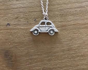VW Beetle Bug Necklace