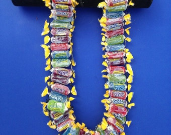 Candy Lei - Graduation Lei - Jolly Rancher Lei