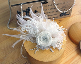 Bridal floralen Kopfschmuck