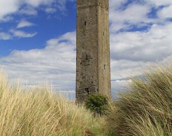 Ireland Photography River Boyne Coastal Print Maiden Tower County Meath Mornington Drogheda Navigational Aid Beach Photo Lighthouse Wall Art