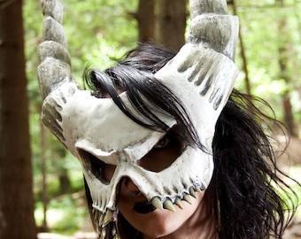 Demon Skull Mask Harbinger Custom Handmade