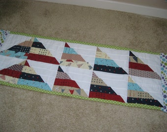 Triangle Table Runner.