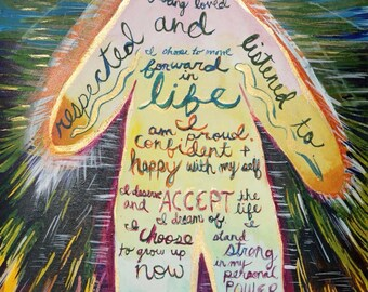 Affirmations (Giclee print)