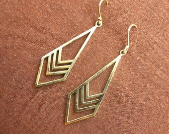 Earrings - arrow
