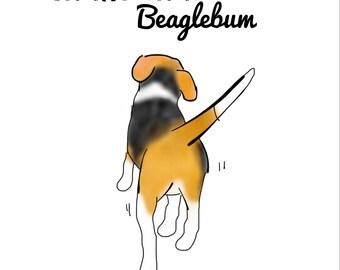 Fun Beagle Print