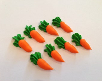 Royal icing carrots LOT of 100