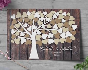 Wedding tree, Guest book
