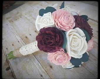 Sola Rose Bridal Bouquet