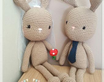 Amigurumi pattern: Lanky rabbit