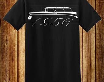 56 Chevy Nomad Station Wagon T-Shirt