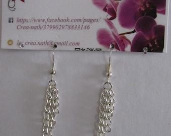 earring type chain F9
