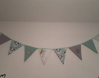 Garland pennants, pandas or unicorns made new collection