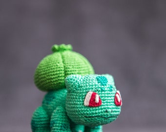 Amigurumi pokemon etsy : Bulbasaur etsy
