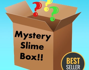 Mystery Slime box/Package FREE Extras Choose Large or Small Size box Scented Slime Cheap Slime shops Floam slime Cloud slime Cotton Candy