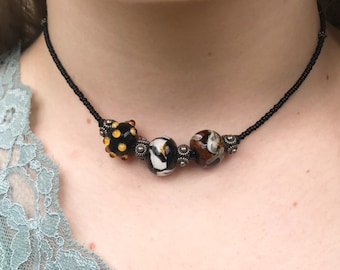 The Tiger Bead Necklace