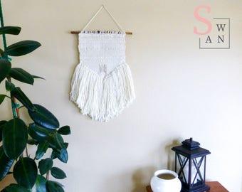 wall hanging, mothers day gift, woven tapestry, boho nursery wall art, minimalist decor, yarn wall hanging, woven wall hanging, dorm decor