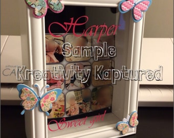 Mother's Day Gift, Shadow Box Keepsake, Unique Gift, Personalized Gift, Customized Gift