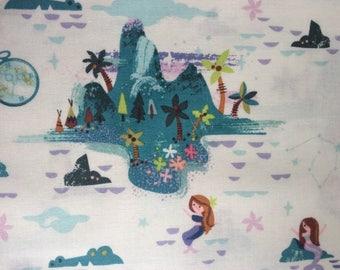 Neverland Island Fabric in Cream