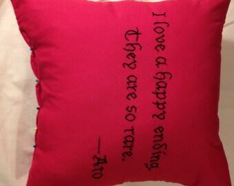 Twilight Inspired, Aro 's Happy Endings, Throw Pillow
