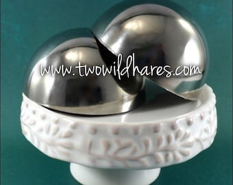 2.5″  BATH BOMB Mold, Heavy Duty, Stainless Steel, Won't Dent Like, Best Selling Size, Two Wild Hares