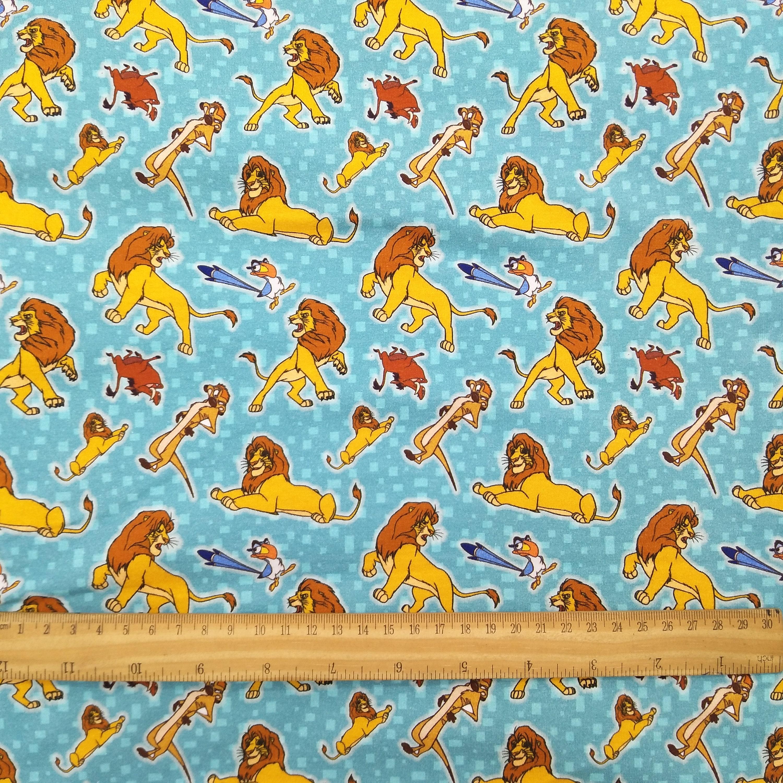 The lion king fabric, digital printing, cotton lycra knit fabric - 1 ...
