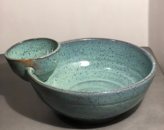 Green Dipping Bowl