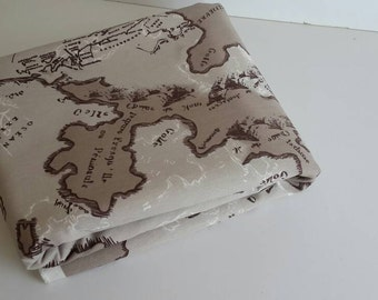 Globe map fabric etsy studio wholesale map fabric maps print fabric map of the world brown fabric fabric map world fabric yardage gumiabroncs Gallery