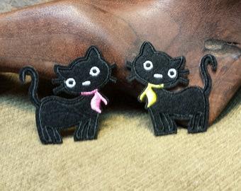 Sale #EarthDay ~ Black Cat Patch