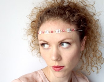 REDUCED PRICE Princess Circlet in Pink and Silver