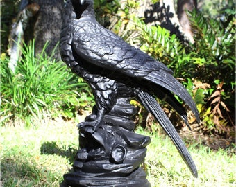 Bald Eagle Life Size Sculpture or Statue Proud American Art Work